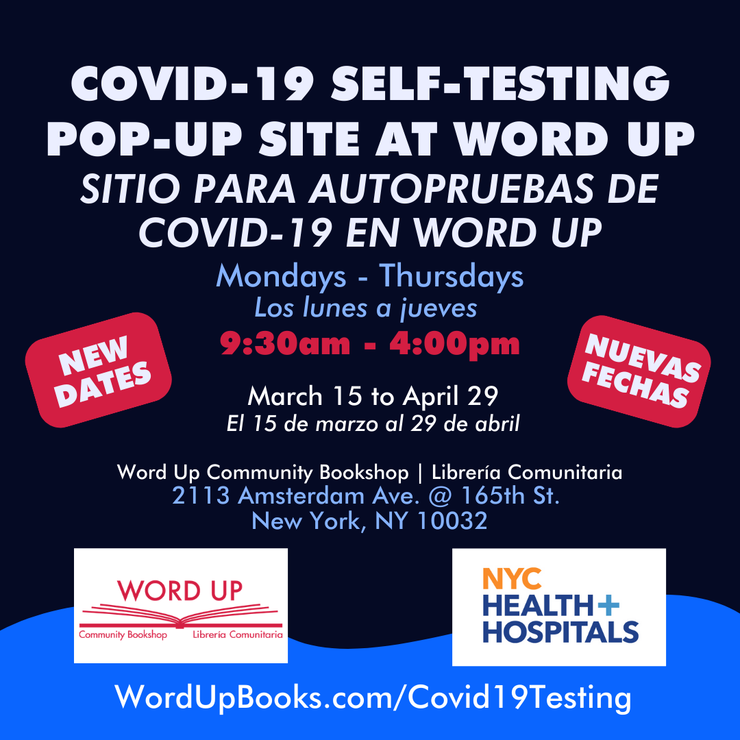 COVID-19 Self-test Pop-Up site